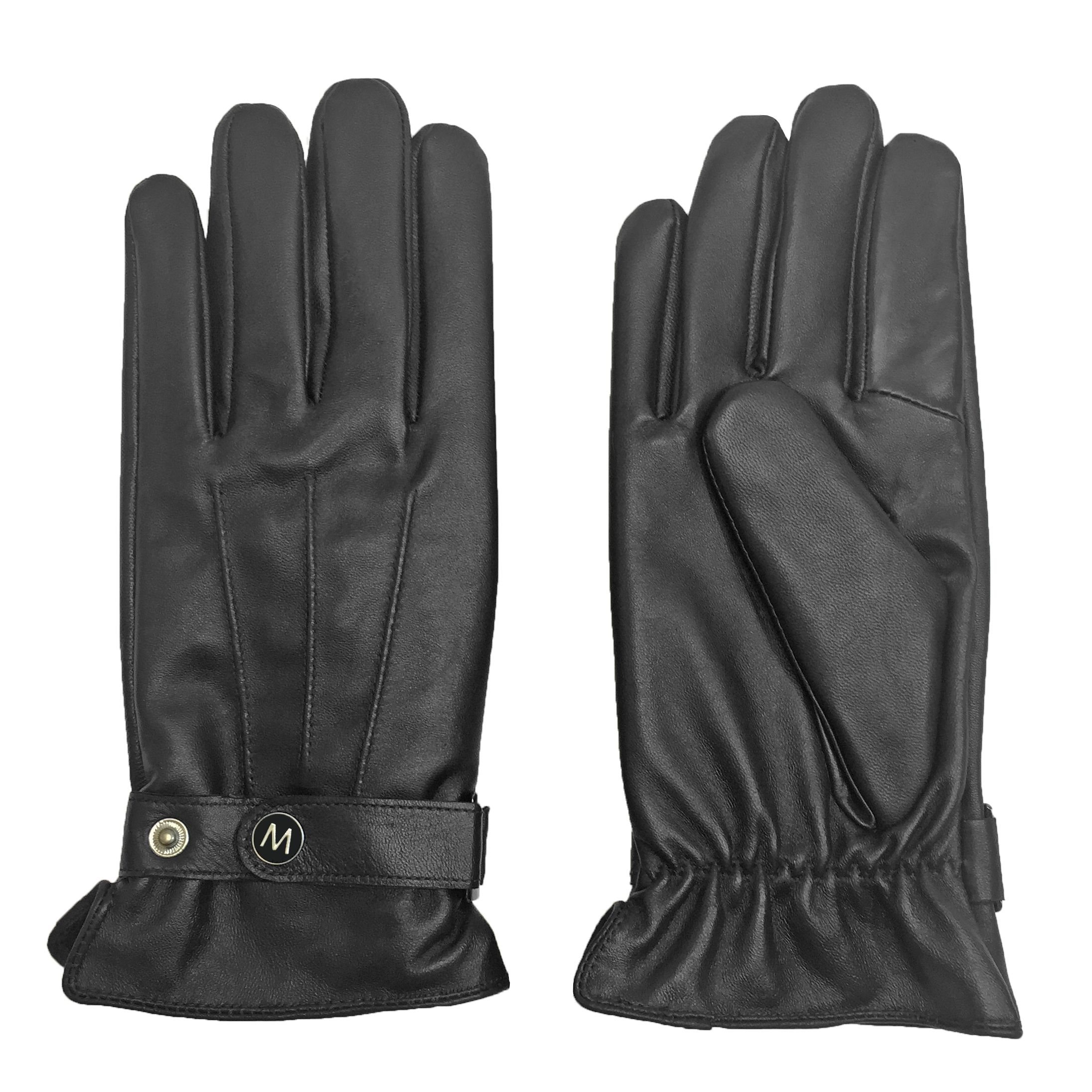 MoDA Mr. Chicago Best Winter Cold Weather Men's Genuine Leather Gloves with Touch function