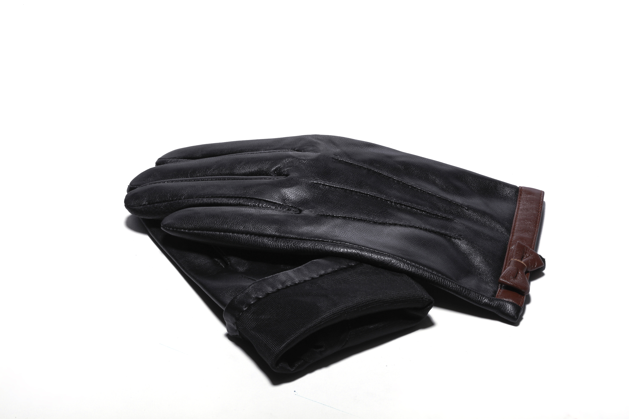 MoDA Women's Ms. Stockholm Genuine Leather Touch Screen Winter Driving Gloves C0155