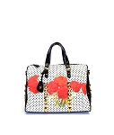 MoDA Rose print Large satchel