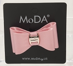 MoDA Satin Bow Hair Tie Set of 6 Assorted Colors