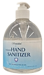Instant Hand Sanitizers 500 ml or 16 fl oz