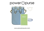 Power O Purse 2 Compartments Mobile X Body + Ultra Slip Super Light Power Bank + Flash Charging Cable