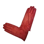 MoDA Ms Ottawa Women's Genuine Leather Gloves C0018 Red