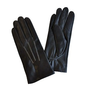 MoDA Ms Amsterdam Womens Luxury Winter Driving Leather Touch Screen Texting Gloves C0099-Black