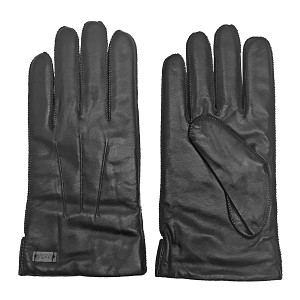 MoDA Mr. Boston Men's Luxury Genuine Wool Lining Leather Driving Gloves C0125A