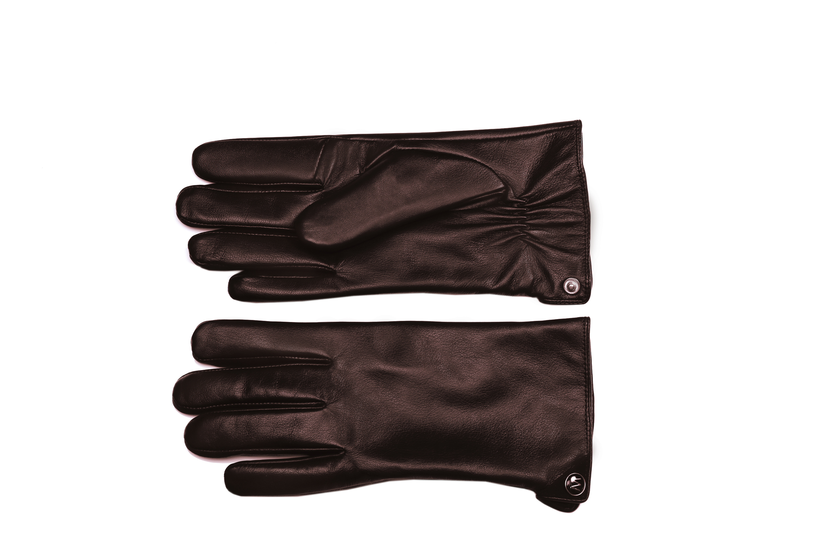 MoDA Men's Mr. Seattle Luxury Premium Leather Winter Driving Gloves with Touchscreen Technology Brown