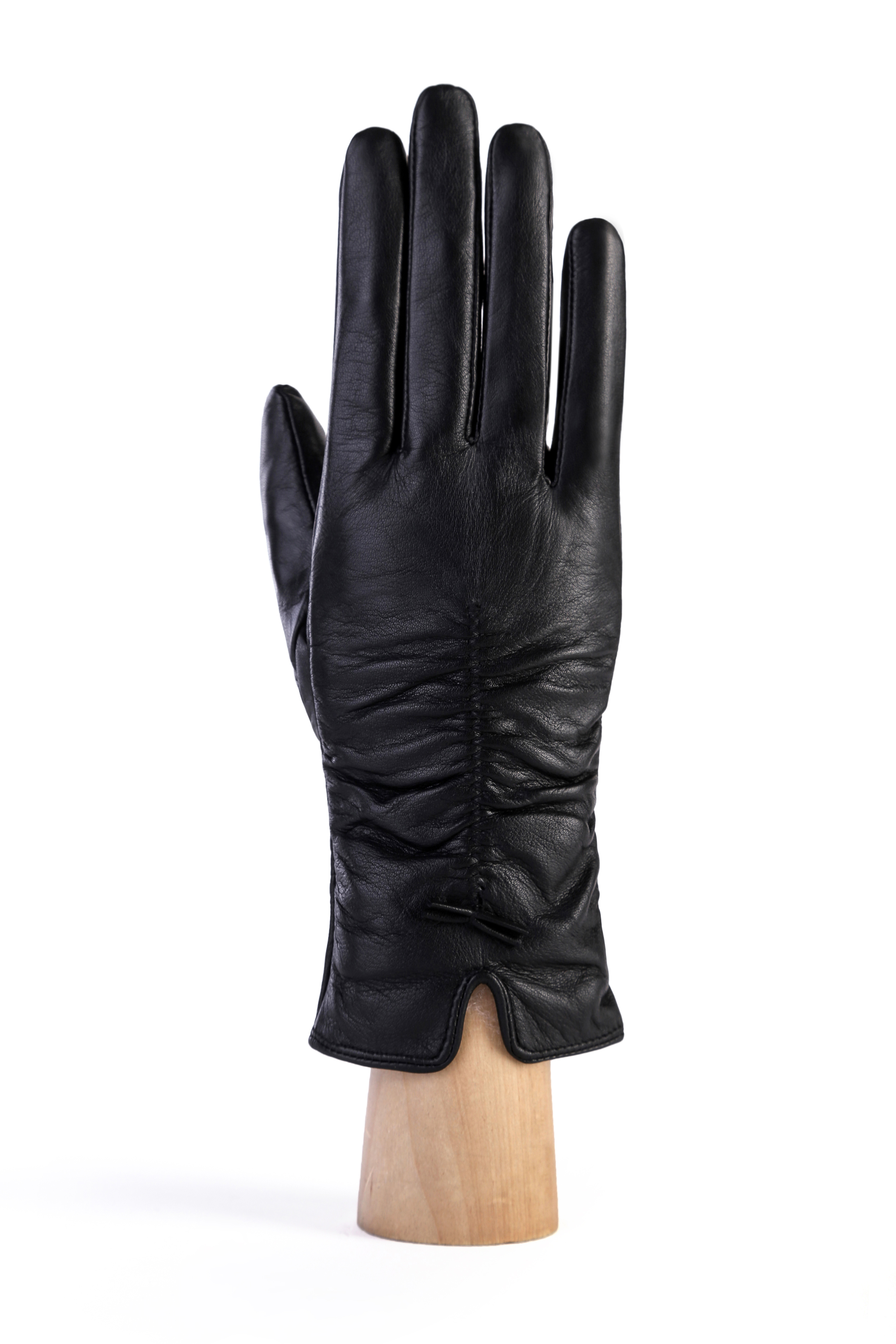 MoDA Ms Florence Premium Genuine Leather Gloves C0128 Black