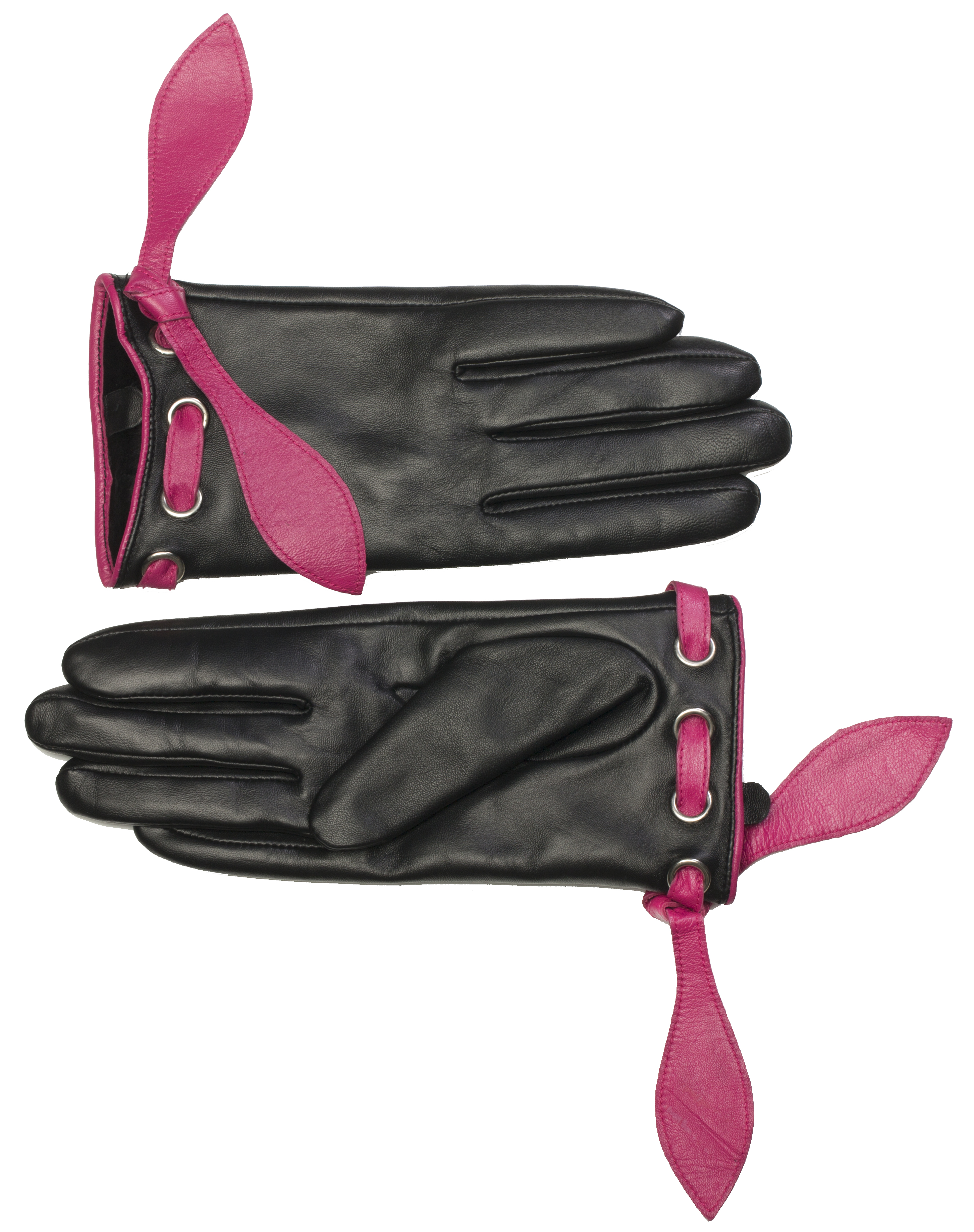 MoDA Women's Ms. Zürich Genuine Leather Fully Lined Winter Gloves C0139-Rose-L