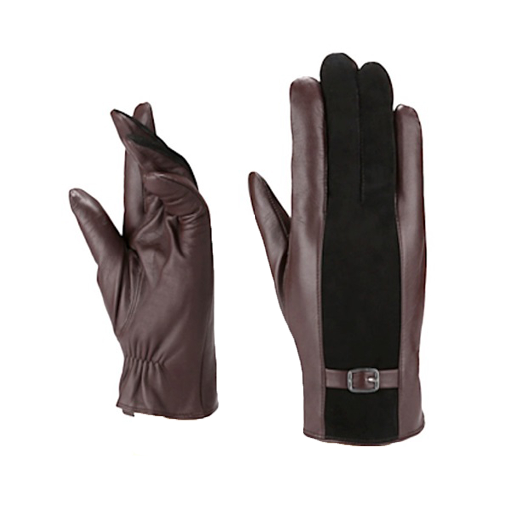 MoDA Men's Mr. Anchorage Genuine Suede Cold Weather Winter Leather Gloves C0177