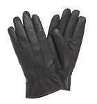 MoDA Ms Dover Women's Genuine Leather Gloves C0122-Black-L