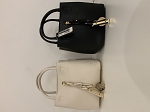 MoDa goldie chain mini bag w/ travel bag inside
