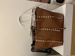 MoDA studded shoulder bag