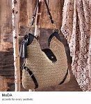 MoDA Bohemian Beach Bag Travel Tote Handbag