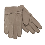 MoDA Ms Barcelona Womens Genuine Leather Assorted Colors Cold Weather Gloves with Bow C0101 Tan