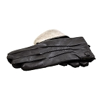 MoDA Mr. New York Men's Luxury Genuine Wool Lining Leather Driving Gloves C0125B